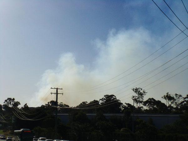 Smoke on the Parkwood...
