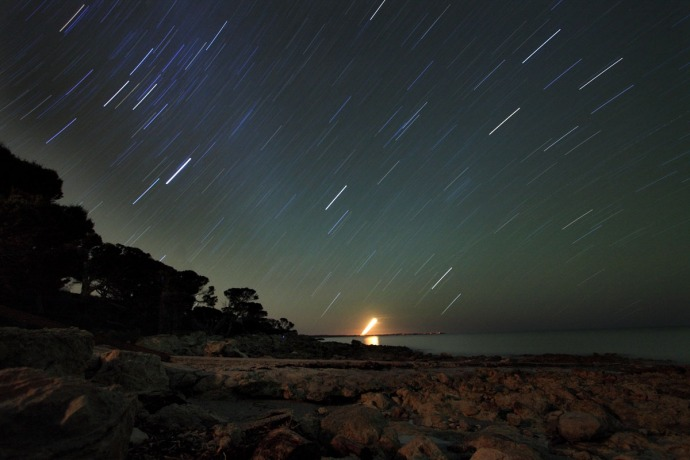 Yorke Peninsula Star Trail