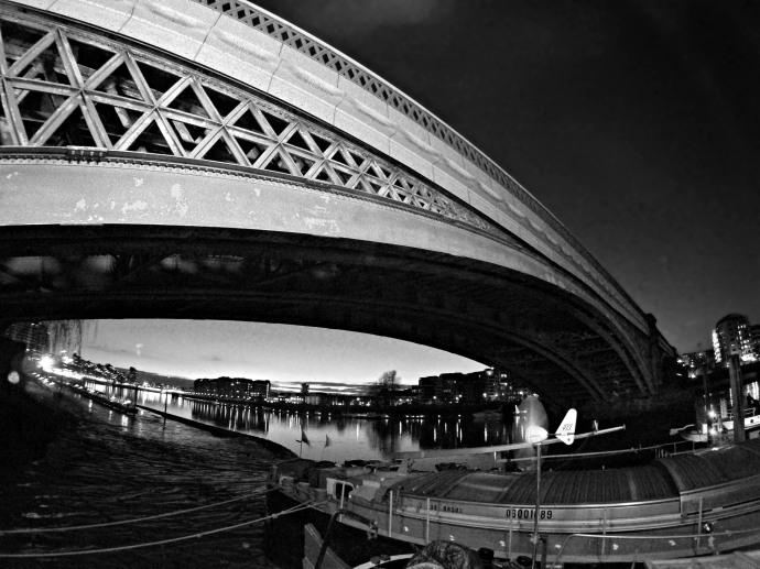 Imperial Wharf Rail Bridge