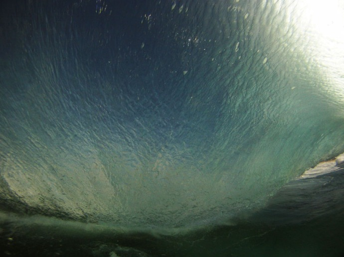 Inside Lip of Wave