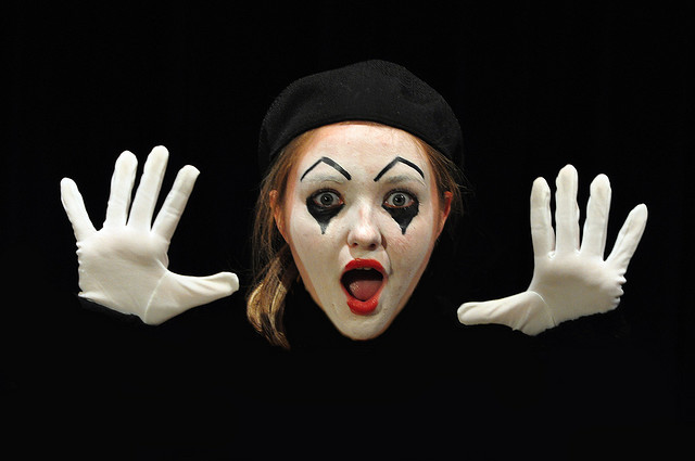 Gallery For > Happy Mimes
