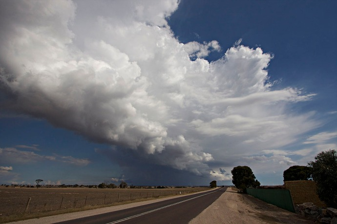 I want to be a cumulonimbus. Sorry. Back to the navel gazing.