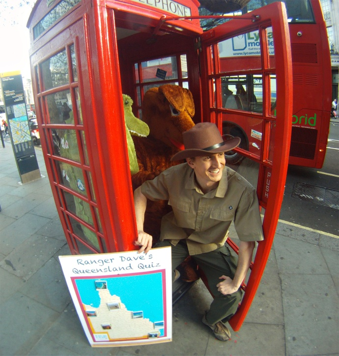 Ranger Dave Phone Box